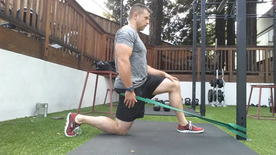 Banded Lunge from How to Be a Supple Leopard